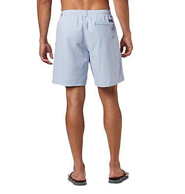 Men's PFG Super Backcast™ Water Shorts Super Backcast™ Water Short   359   S, Dark Pool Seersucker, back