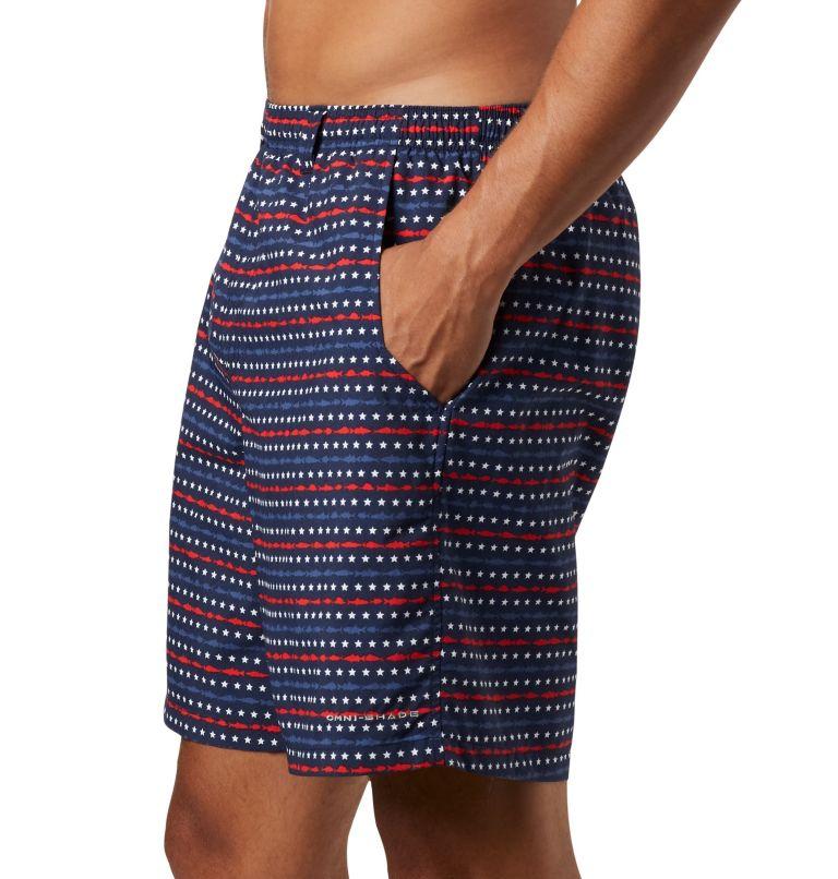 Super Backcast™ Water Short   471   XL Men's PFG Super Backcast™ Water Shorts, Collegiate Navy Americana Print, a2