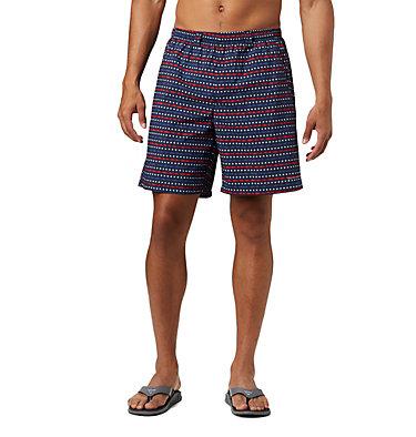 Men's PFG Super Backcast™ Water Shorts Super Backcast™ Water Short   359   S, Collegiate Navy Americana Print, front