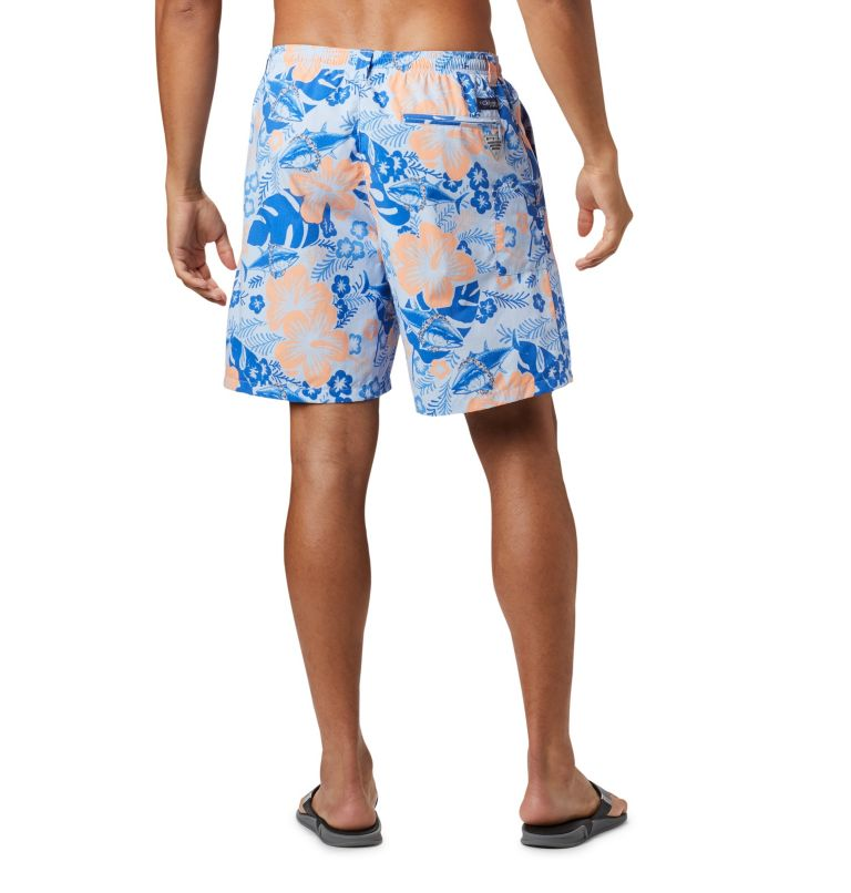 Super Backcast™ Water Short   486   XL Men's PFG Super Backcast™ Water Shorts, Sail Katuna Vibes Print, back