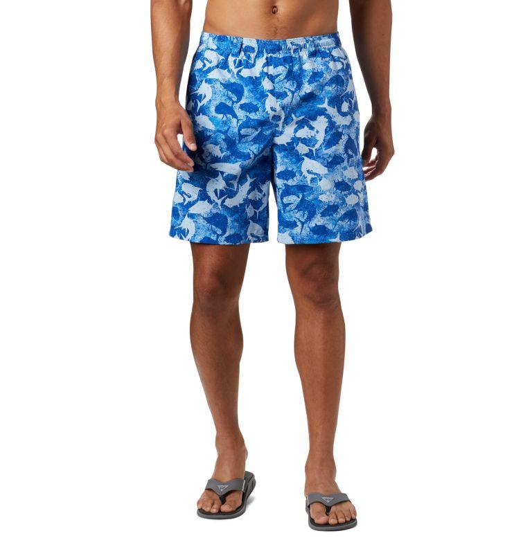 Super Backcast™ Water Short | 492 | XL Men's PFG Super Backcast™ Water Shorts, Vivid Blue Inside Out Camo, front