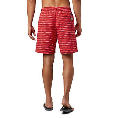 Men's PFG Super Backcast™ Water Shorts Super Backcast™ Water Short   359   S, Red Spark Americana Print, back