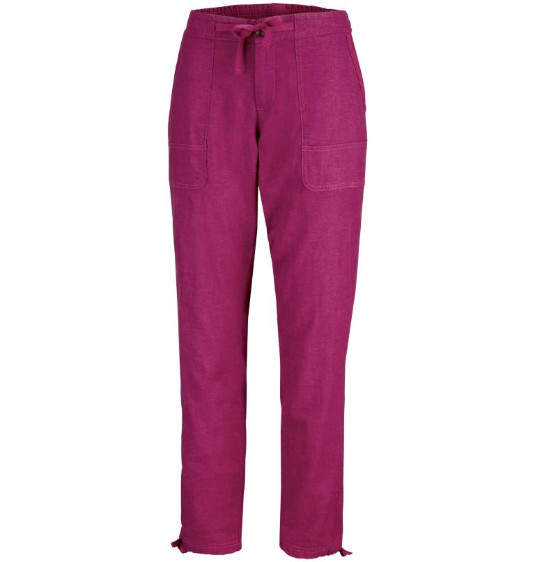 Summer Time™ Pant | 550 | XS Pantalon Summer Time™ Femme, Wine Berry, front