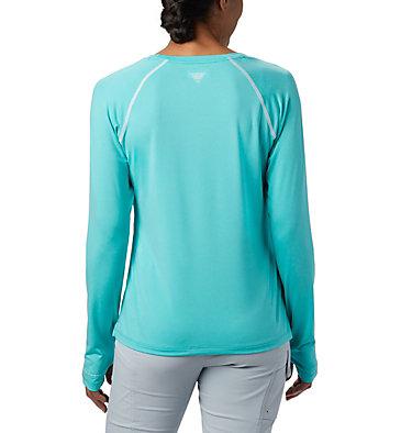 Women's PFG Tamiami™ Heather Knit Long Sleeve Tamiami™ Heather Knit Long Sleeve | 356 | L, Dolphin, White, back