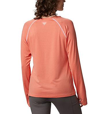 Women's PFG Tamiami™ Heather Knit Long Sleeve Tamiami™ Heather Knit Long Sleeve | 356 | L, Lychee, White, back