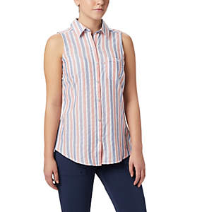Women's PFG Super Harborside™ Woven Sleeveless Shirt