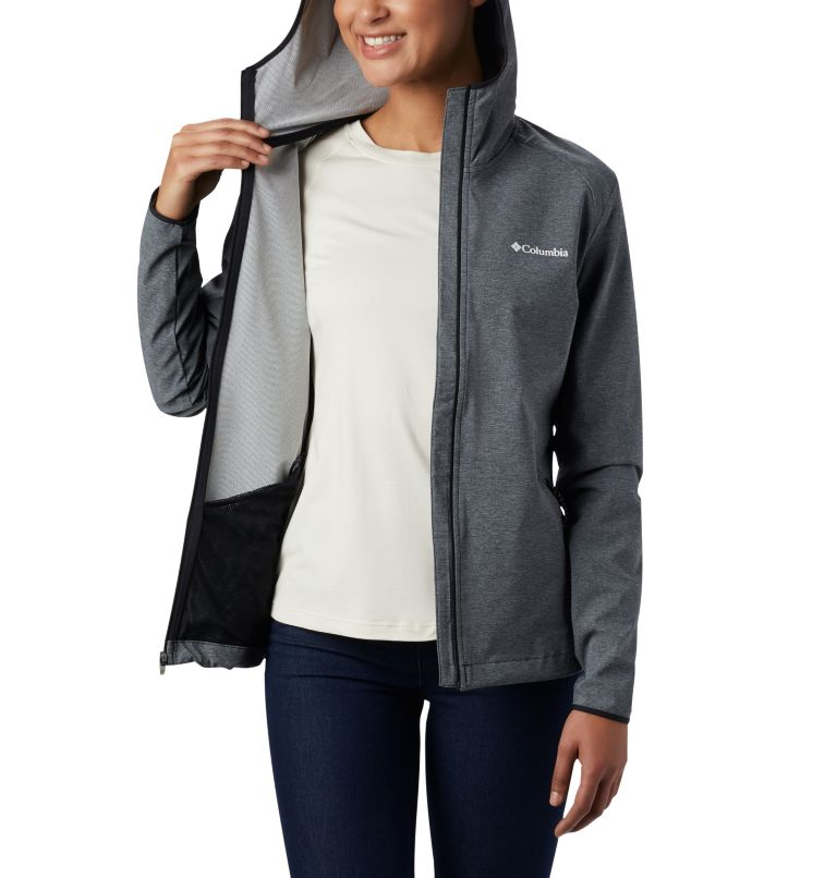 Women's Heather Canyon™ Softshell Jacket Women's Heather Canyon™ Softshell Jacket, a3