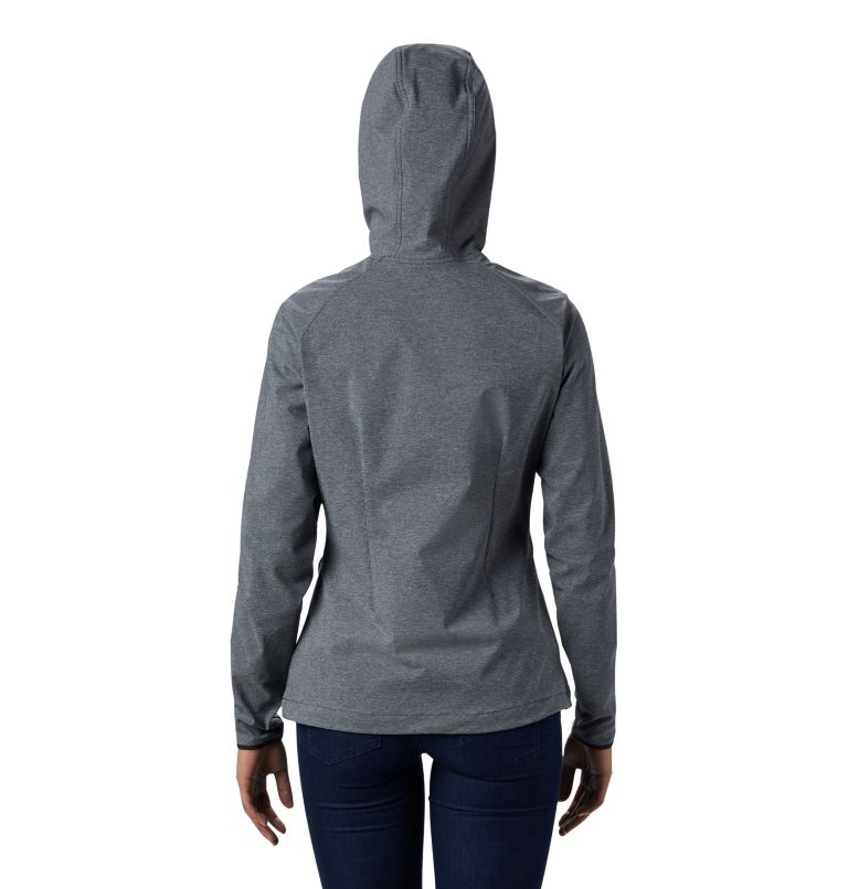 Women's Heather Canyon™ Softshell Jacket Women's Heather Canyon™ Softshell Jacket, back