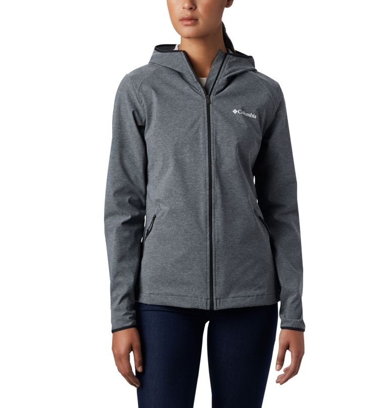 Women's Heather Canyon™ Softshell Jacket Women's Heather Canyon™ Softshell Jacket, front