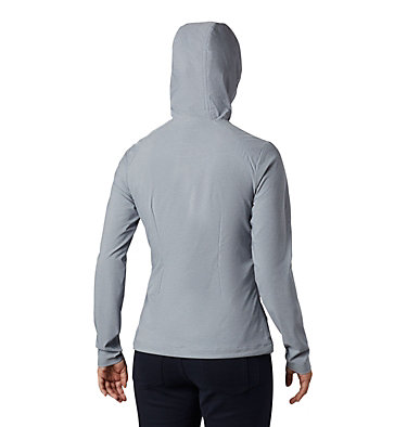 Women's Heather Canyon™ Softshell Jacket Heather Canyon™ Softshell Jack | 010 | L, Tradewinds Grey Heather, back