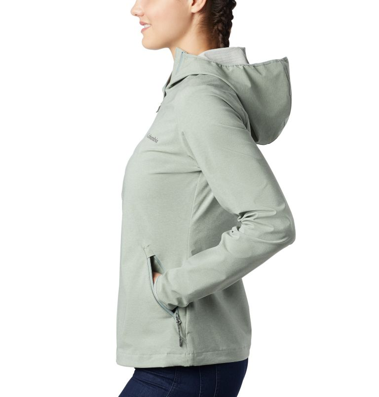 Heather Canyon™ Softshell Jacket | 305 | XS Veste Légère Heather Canyon™ Femme, Light Lichen Heather, a1
