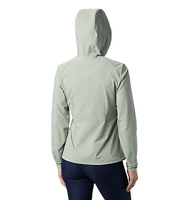 Women's Heather Canyon™ Softshell Jacket Heather Canyon™ Softshell Jack | 010 | L, Light Lichen Heather, back