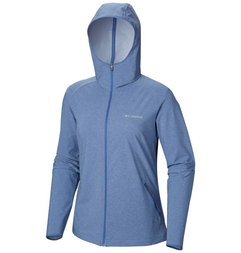 Heather Canyon™ Softshell Jack | 456 | L Giacca softshell Heather Canyon™ da donna, Blue Dusk Heather, a1