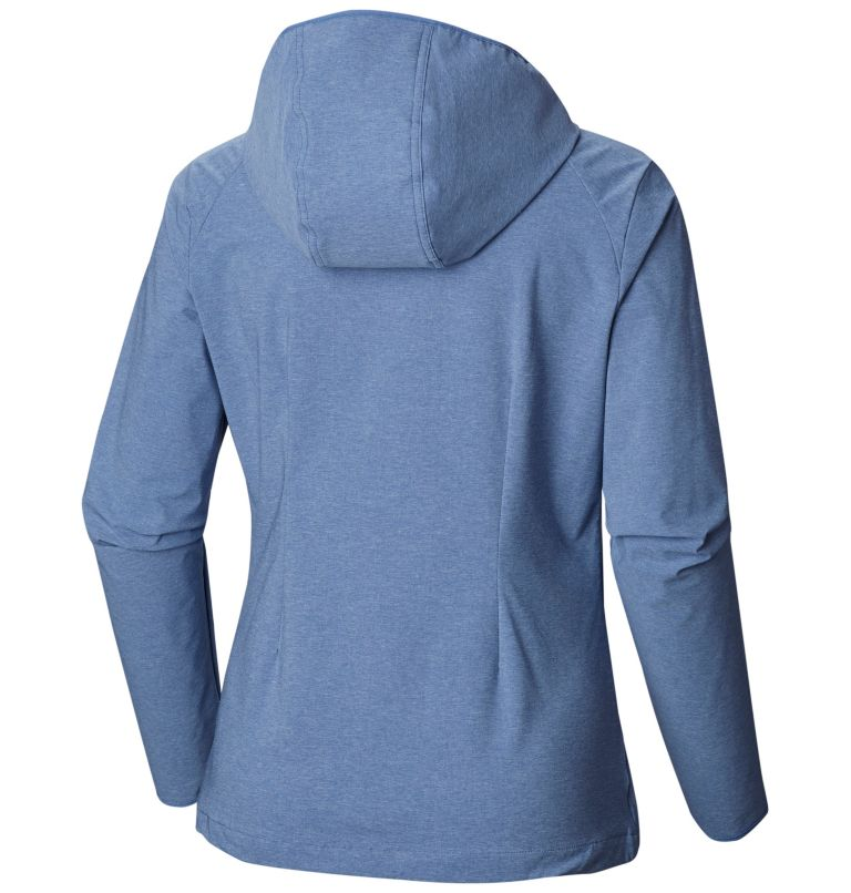 Heather Canyon™ Softshell Jack | 456 | L Giacca softshell Heather Canyon™ da donna, Blue Dusk Heather, back