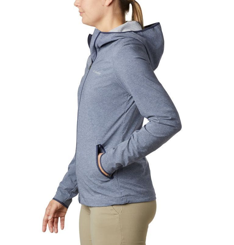 Heather Canyon™ Softshell Jack | 466 | XL Giacca softshell Heather Canyon™ da donna, Nocturnal Heather, a1