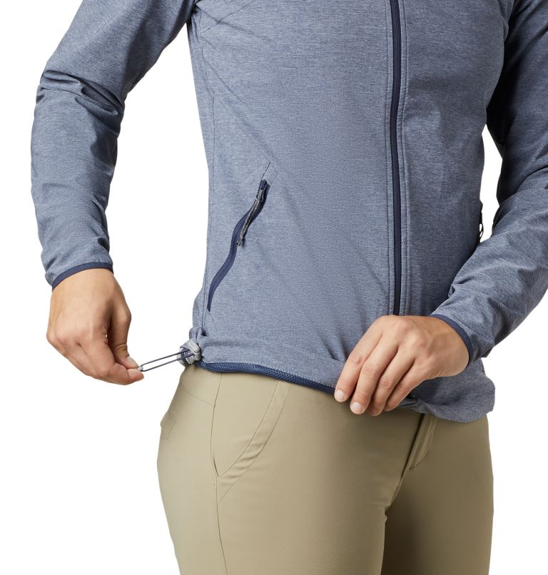 Heather Canyon™ Softshell Jack | 466 | XL Giacca softshell Heather Canyon™ da donna, Nocturnal Heather, a2