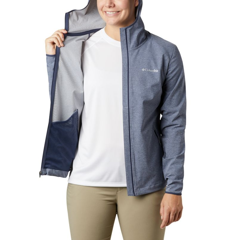 Heather Canyon™ Softshell Jack | 466 | XL Giacca softshell Heather Canyon™ da donna, Nocturnal Heather, a3