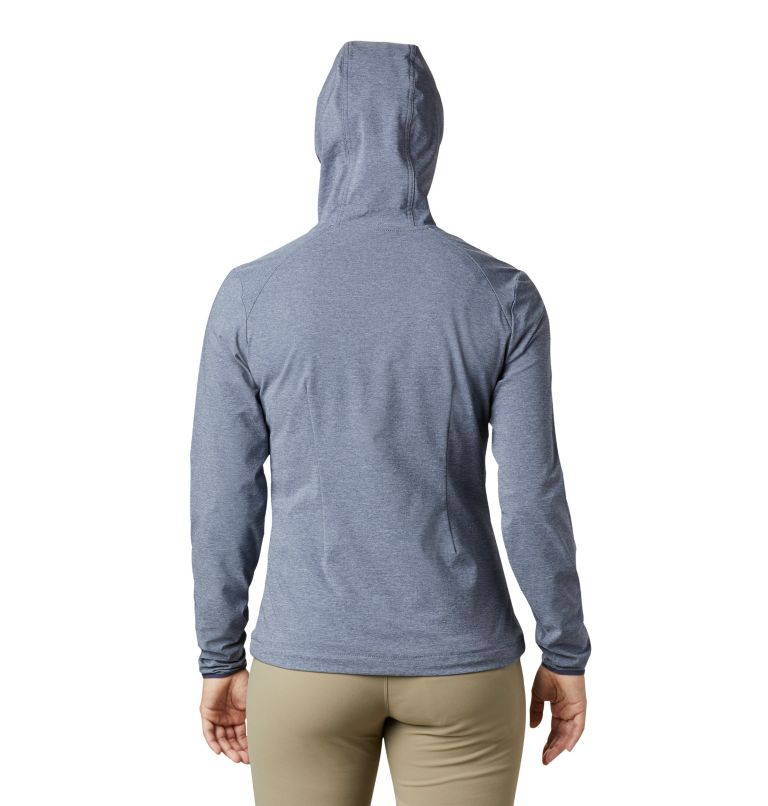 Heather Canyon™ Softshell Jack | 466 | XL Giacca softshell Heather Canyon™ da donna, Nocturnal Heather, back