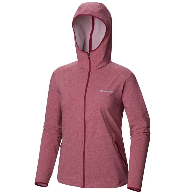 Heather Canyon™ Softshell Jack | 550 | L Giacca softshell Heather Canyon™ da donna, Wine Berry Heather, a1