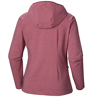 Women's Heather Canyon™ Softshell Jacket Heather Canyon™ Softshell Jack | 010 | L, Wine Berry Heather, back