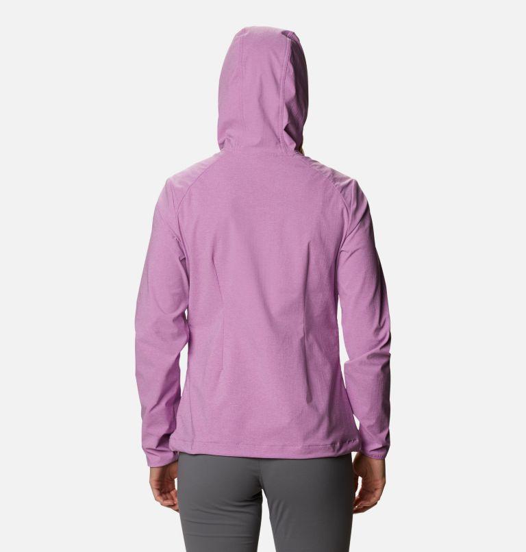 Heather Canyon™ Softshell Jacket | 605 | XL Women's Heather Canyon™ Softshell Jacket, Blossom Pink, back
