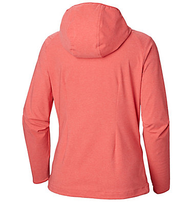 Women's Heather Canyon™ Softshell Jacket Heather Canyon™ Softshell Jack | 010 | L, Red Coral Heather, back