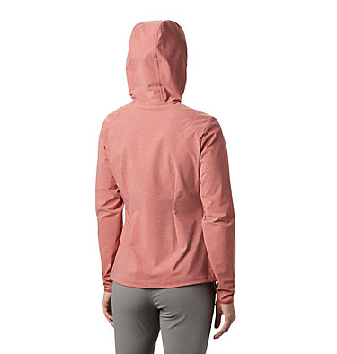 Women's Heather Canyon™ Softshell Jacket Heather Canyon™ Softshell Jack | 010 | L, Dusty Crimson Heather, back
