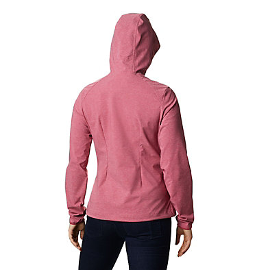 Women's Heather Canyon™ Softshell Jacket Heather Canyon™ Softshell Jack | 010 | L, Red Orchid, back