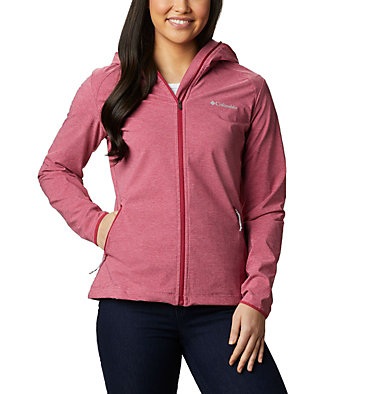 Women's Heather Canyon™ Softshell Jacket Heather Canyon™ Softshell Jack | 010 | L, Red Orchid, front