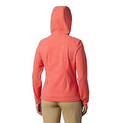 Women's Heather Canyon™ Softshell Jacket Heather Canyon™ Softshell Jack | 010 | L, Bold Orange Heather, back