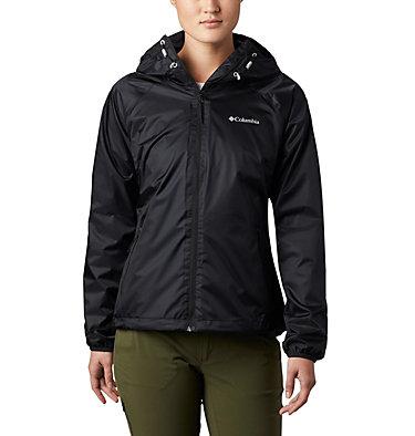 Women's Ulica™ Rain Jacket Ulica™ Jacket | 456 | XS, Black Sheen, front