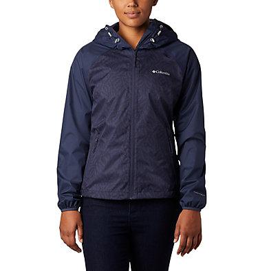Women's Ulica™ Rain Jacket Ulica™ Jacket | 456 | XS, Nocturnal, Nocturnal Ferny Ferns Print, front