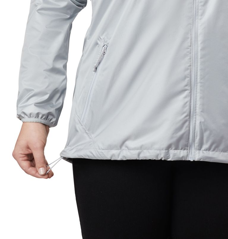 Ulica™ Jacket | 031 | 3X Women's Ulica™ Jacket – Plus Size, Cirrus Grey Sheen, a2