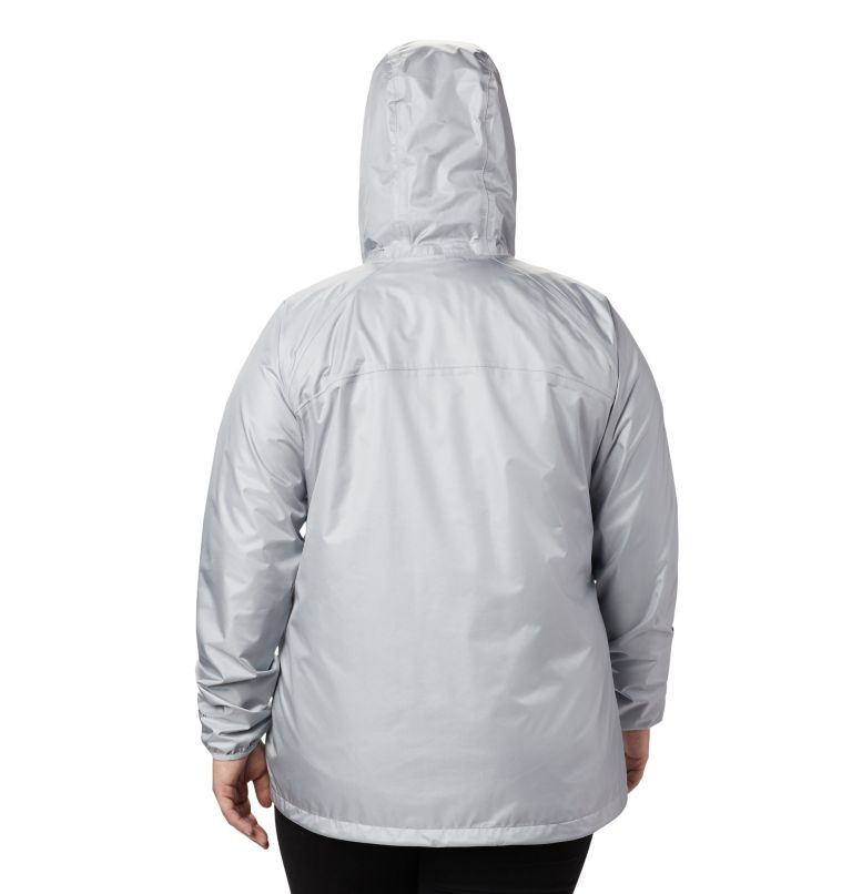 Ulica™ Jacket | 031 | 3X Women's Ulica™ Jacket – Plus Size, Cirrus Grey Sheen, back
