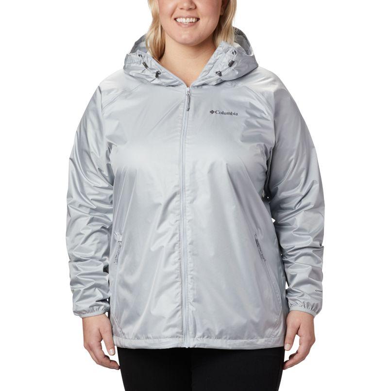 Ulica™ Jacket | 031 | 3X Women's Ulica™ Jacket – Plus Size, Cirrus Grey Sheen, front