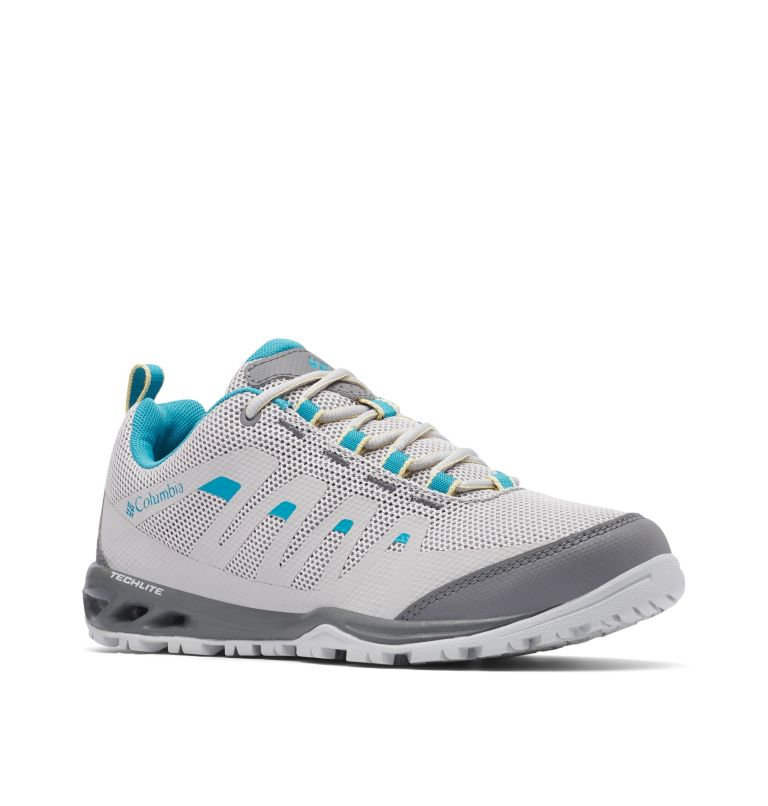 VAPOR VENT™ | 063 | 9 Women's Vapor Vent Trail Shoe, Grey Ice, Beta, 3/4 front