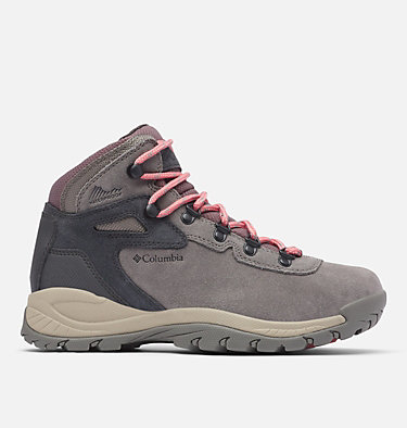 Women's Newton Ridge™ Plus Waterproof Amped Hiking Boot NEWTON RIDGE™ PLUS WATERPROOF AMPED | 012 | 10, Stratus, Canyon Rose, front