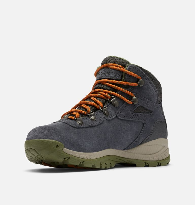 NEWTON RIDGE™ PLUS WATERPROOF AMPED | 012 | 7 Women's Newton Ridge™ Plus Waterproof Amped Hiking Boot, Shark, Hiker Green