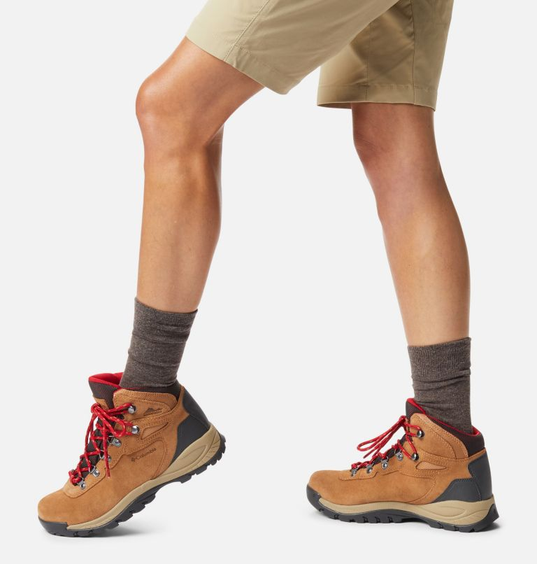 NEWTON RIDGE™ PLUS WATERPROOF AMPED | 286 | 10.5 Women's Newton Ridge™ Plus Waterproof Amped Hiking Boot, Elk, Mountain Red, a9