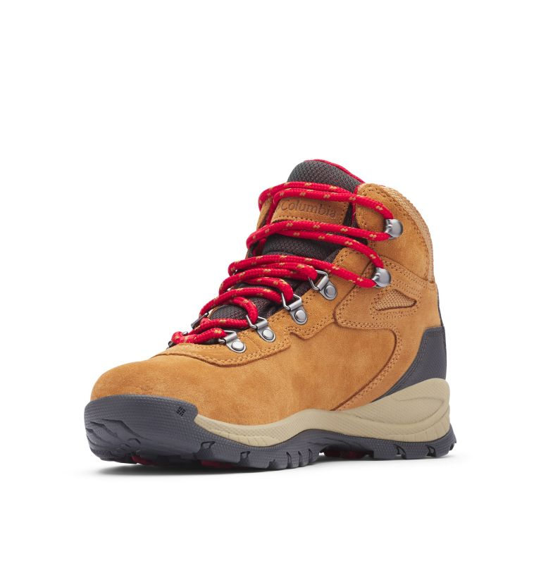 NEWTON RIDGE™ PLUS WATERPROOF AMPED | 286 | 10.5 Women's Newton Ridge™ Plus Waterproof Amped Hiking Boot, Elk, Mountain Red
