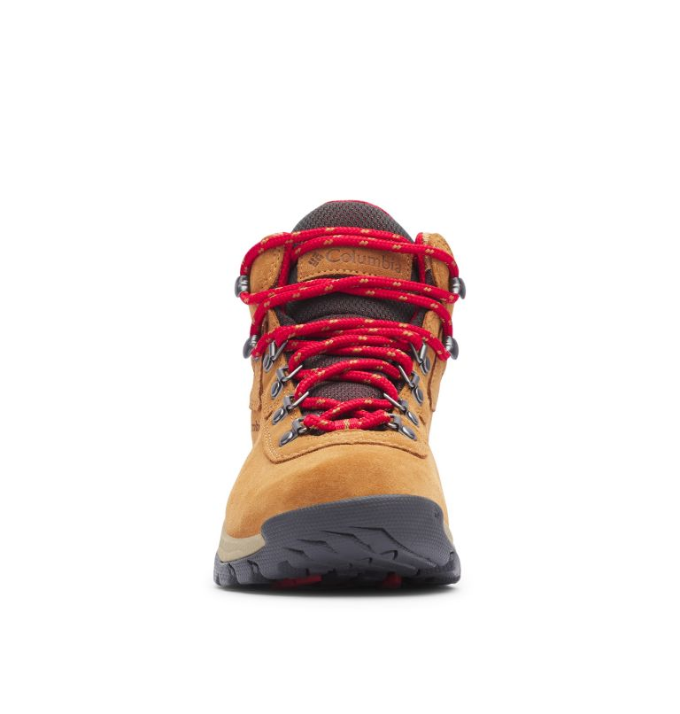 NEWTON RIDGE™ PLUS WATERPROOF AMPED | 286 | 10.5 Women's Newton Ridge™ Plus Waterproof Amped Hiking Boot, Elk, Mountain Red, toe