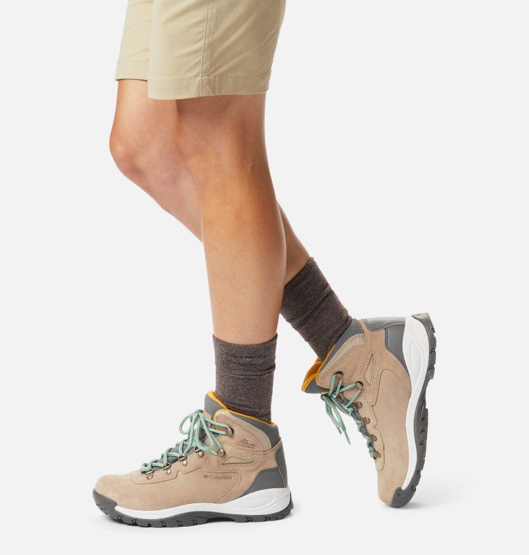 NEWTON RIDGE™ PLUS WATERPROOF AMPED WIDE | 213 | 7.5 Women's Newton Ridge™ Plus Waterproof Amped Hiking Boot - Wide, Oxford Tan, Dusty Green, a9