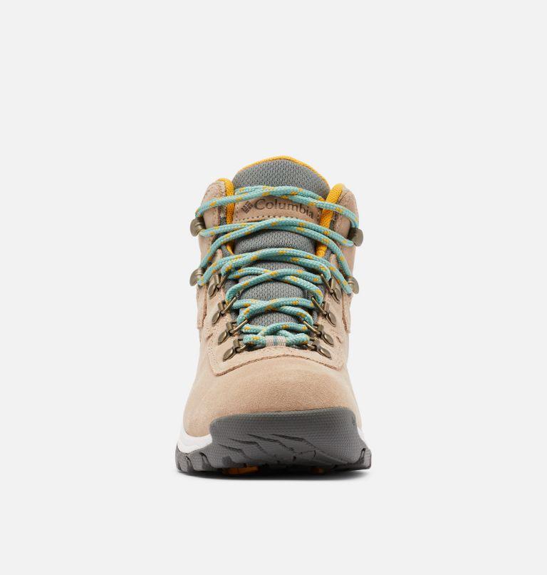 NEWTON RIDGE™ PLUS WATERPROOF AMPED WIDE | 213 | 7.5 Women's Newton Ridge™ Plus Waterproof Amped Hiking Boot - Wide, Oxford Tan, Dusty Green, toe