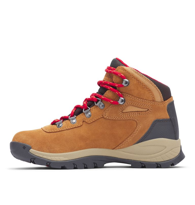 NEWTON RIDGE™ PLUS WATERPROOF AMPED WIDE | 286 | 6 Women's Newton Ridge™ Plus Waterproof Amped Hiking Boot - Wide, Elk, Mountain Red, medial