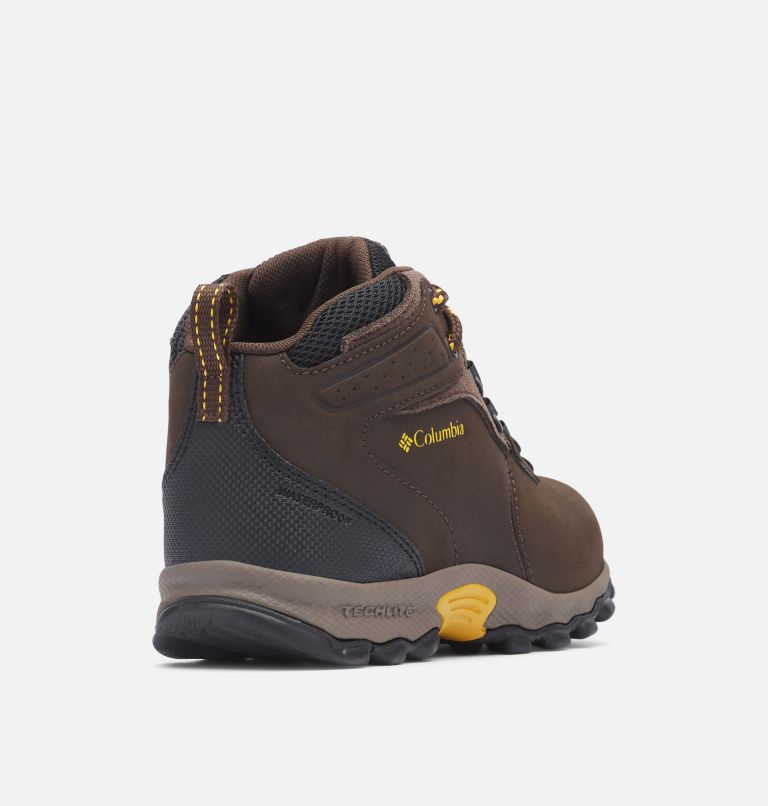 Big Kids' Newton Ridge™ Waterproof Hiking Boot Big Kids' Newton Ridge™ Waterproof Hiking Boot, 3/4 back