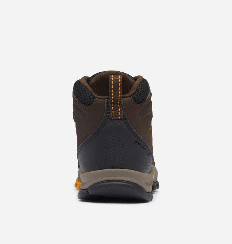 CHILDRENS NEWTON RIDGE™ | 231 | 10 Little Kids' Newton Ridge™ Waterproof Hiking Boot, Cordovan, Golden Yellow, back