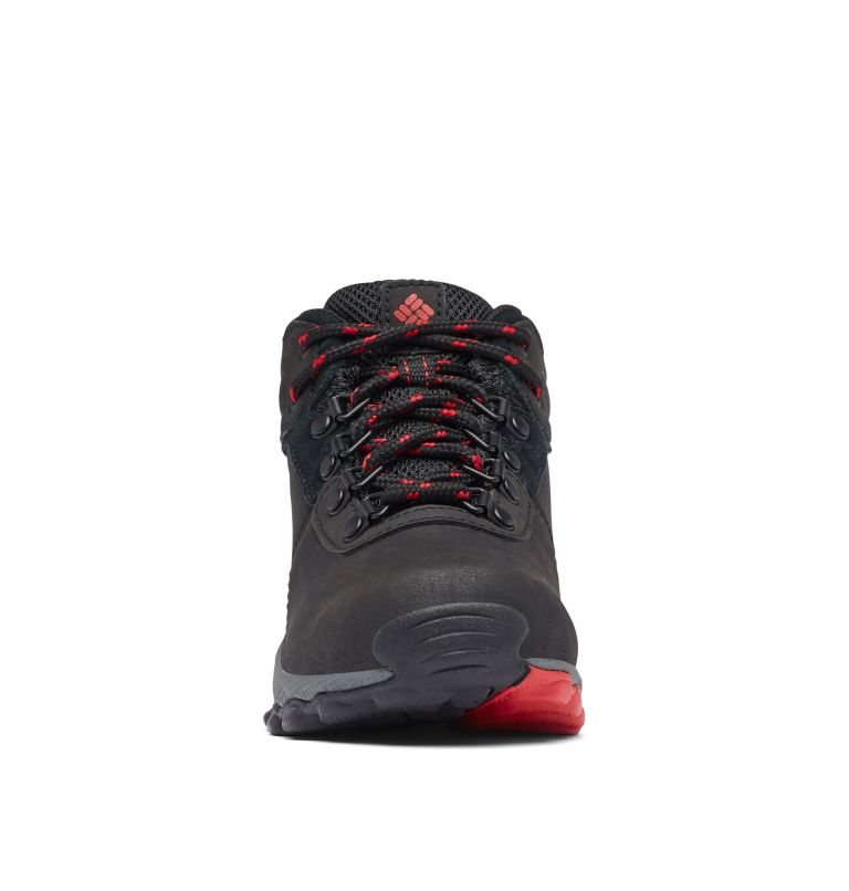 YOUTH NEWTON RIDGE™ WIDE | 010 | 6 Big Kids' Newton Ridge™ Waterproof Hiking Boot - Wide, Black, Mountain Red, toe