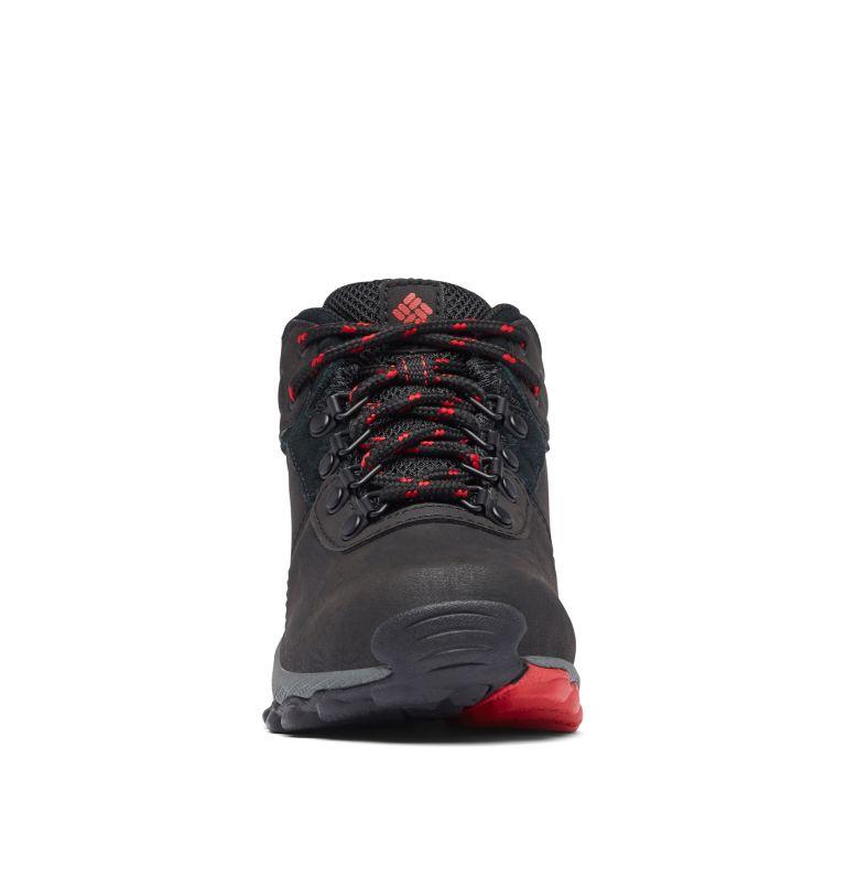YOUTH NEWTON RIDGE™ WIDE   010   4 Big Kids' Newton Ridge™ Waterproof Hiking Boot - Wide, Black, Mountain Red, toe