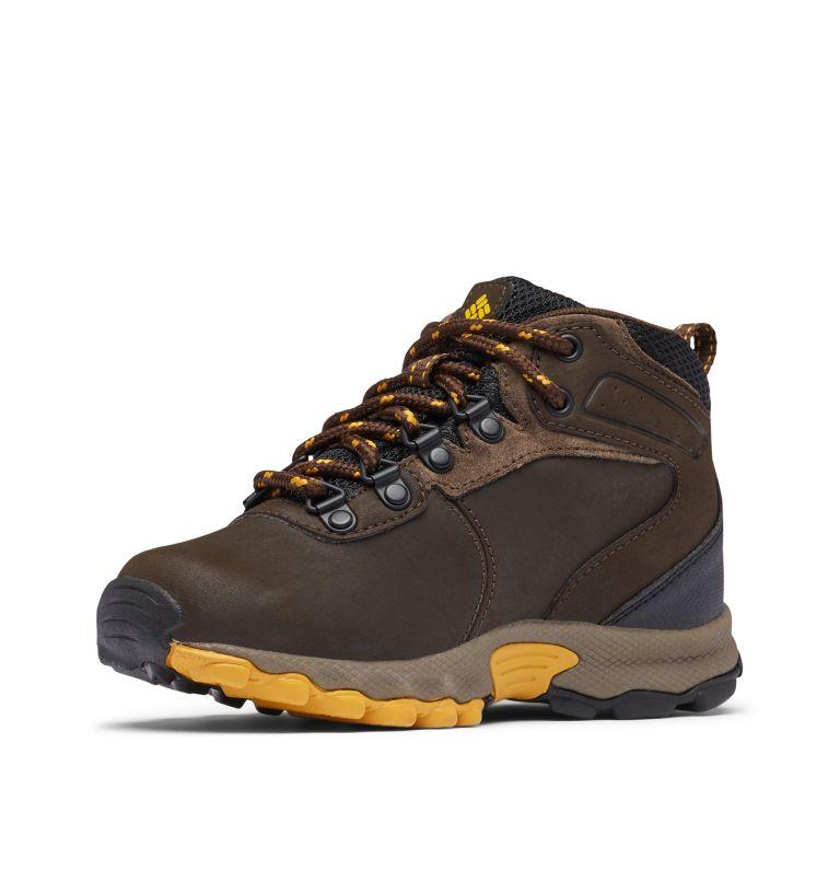 YOUTH NEWTON RIDGE™ WIDE   231   7 Big Kids' Newton Ridge™ Waterproof Hiking Boot - Wide, Cordovan, Golden Yellow