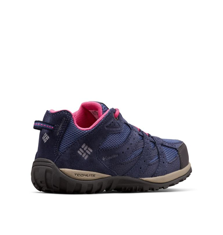YOUTH REDMOND™ WATERPROOF | 508 | 5 Big Kids' Redmond™ Waterproof Shoe, Bluebell, Pink Ice, 3/4 back